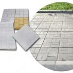 Тротоарни плочи от пресован бетон