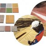 Тротоарни плочи от пластичен бетон
